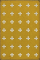 Luxury Designer Spicher & Company Pattern 24 Lemnos Vinyl Floorcloth