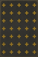 Luxury Designer Spicher & Company Pattern 24 Samos Vinyl Floorcloth