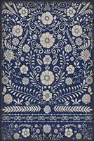 Spicher & Company Pattern 36 Dickinson Vinyl Floorcloth - USA-Made Rug | BSEID
