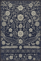 Luxury Designer Spicher & Company Pattern 36 Parker Vinyl Floorcloth