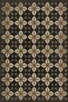 Spicher & Company Pattern 32 Daffodils Vinyl Floorcloth - USA-Made Rug | BSEID