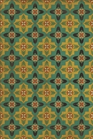 Spicher & Company Pattern 33 Ballyhoo Vinyl Floorcloth - USA-Made Rug | BSEID