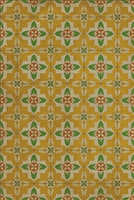 Spicher & Company Pattern 33 Bright & Early Vinyl Floorcloth