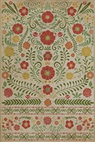Spicher & Company Pattern 36 Where To Be Happiest Vinyl Floorcloth