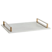 white marble slab tray gold handles