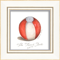 Designer Beach Ball Art Print - USA-Made Wall Art | BSEID