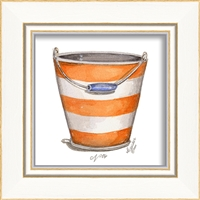 Designer Beach Pail Art Print - USA-Made Wall Art | BSEID