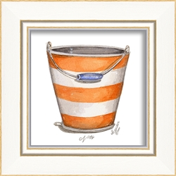 Beach Pail Art Print