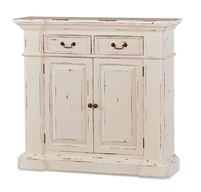 wood sideboard small white