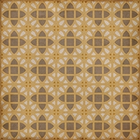 vinyl square floor mat lattice tile pattern cream tan