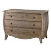 wood pine chest of 3 drawers antiqued brass knobs
