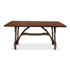 walnut dining table brown