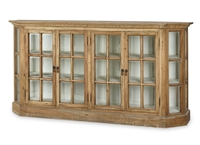 media cabinet wood  glass bookcase driftwood white bookcase traditional bookcase entertainment Bramble