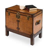 Abilene Leather Box with Stand