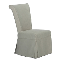 Corseted Side Chairs (pair)