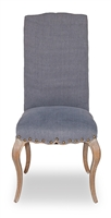 Thorne Side Chair - Blue Linen Pair (2) - Surf Inspired Home Décor