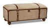 Canvas Trunk Bench by BSEID