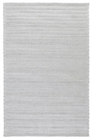 light gray woven braided wool blend texture area rug