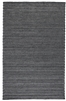 dark gray woven braided wool blend texture area rug