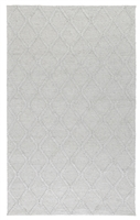 light gray area rug woven diamond pattern texture