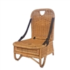 folding rattan picnic chair