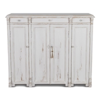 reclaimed pine whitewash sideboard