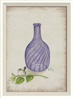 Designer Flower in Bottle 5 Art Print | BSEID