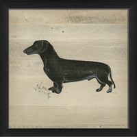 Designer Dog Silhouette (6 Breeds) - USA-Made Wall Art | BSEID