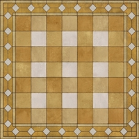 vinyl floor mat square rug gingham mustard yellow gold white check