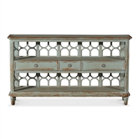 wine shelf reclaimed pine antique blue wash