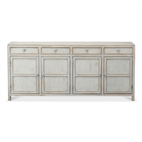 pine sideboard antique blue finish