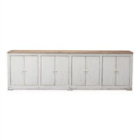 sideboard eight door white