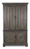 Painted Directoire Style Cabinet - Wood Storage Cabinet