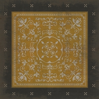 Spicher & Company Pattern 22 Alexander Vinyl Floorcloth - USA-Made Rug | BSEID