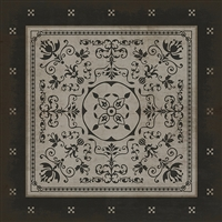 Spicher & Company Pattern 22 Atticus Vinyl Floorcloth - USA-Made Rug | BSEID