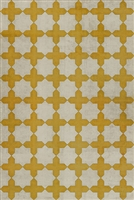 Pattern 23 The Lesser Light Vinyl Floorcloth