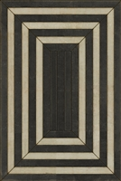 Luxury Designer Spicher & Company Pattern 30 Shang Vinyl Floorcloth