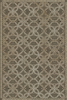 Luxury Designer Spicher & Company Pattern 25 Meiji Vinyl Floorcloth
