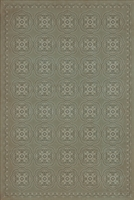 Luxury Designer Spicher & Company Pattern 28 Hush Vinyl Floorcloth