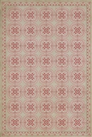 Luxury Designer Spicher & Company Pattern 28 Lovely Vinyl Floorcloth