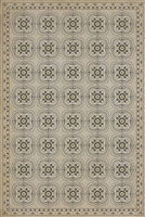 Spicher & Company Pattern 28 Nearest & Dearest Vinyl Floorcloth
