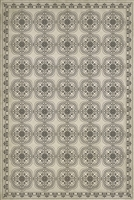 Luxury Designer Spicher & Company Pattern 28 Silent Vinyl Floorcloth