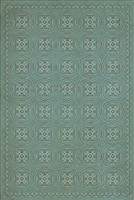Spicher & Company Pattern 28 Unspoken Vinyl Floorcloth - USA-Made Rug | BSEID