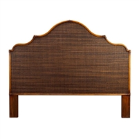 Headboard - Alhambra - Queen - Coffee Finish