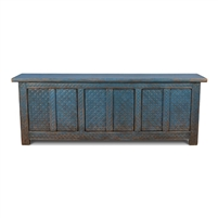 sideboard dark blue pine