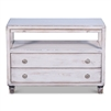 tv stand white rustic drawers