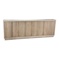 reclaimed solid pine sideboard white antique washed