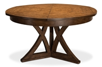 round expandable dining table muted fossil small