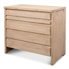 5-drawer chest pine natural finish pine transitional