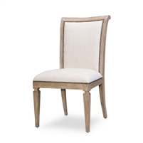 beech fabric heather gray dining chair